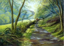 After the Rain - Pastel