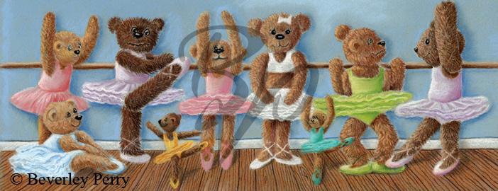 Ballet Class - Pastel