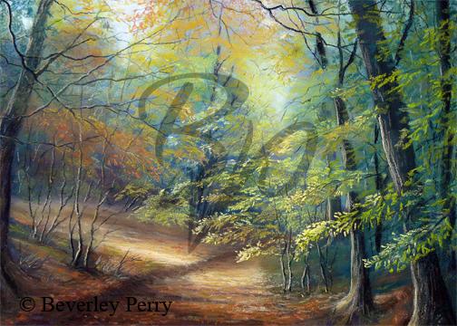 Cranham Woods - Pastel