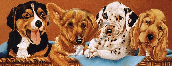 Doggy Allsorts - Pastel