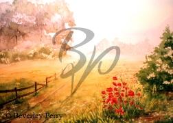 Misty Morning - Watercolour