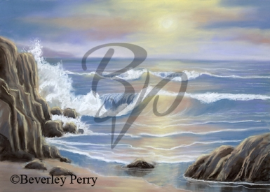 Morning Tide - Pastel