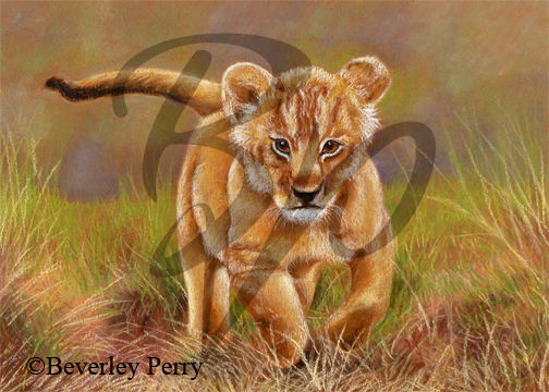 On the Prowl - Pastel