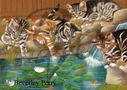 Pond Dipping - Pastel