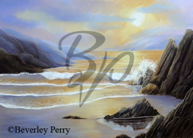 Shoreline Splendour - Pastel