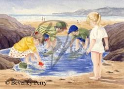 Splashing time - Watercolour