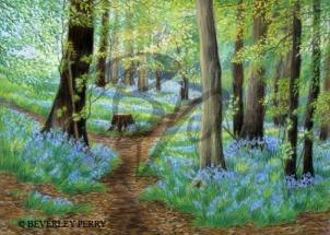 Spring Bluebells - Pastel