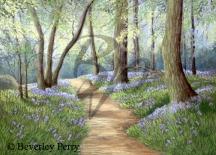 Spring Pathway - Pastel