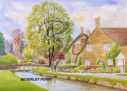TIMELESS LOWER SLAUGHTER - WATERCOLOUR