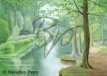 Tranquil Place, Forest of Dean - Pastel