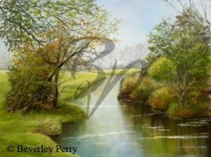Tranquil Windrush - Pastel
