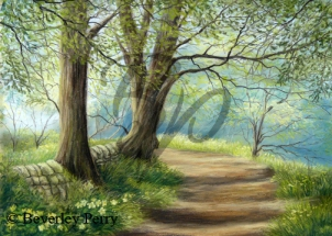 Woodland Walk - Pastel
